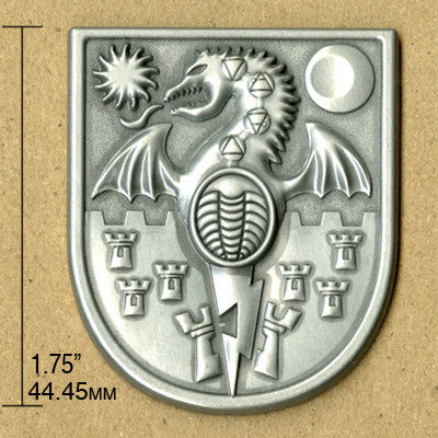 Arms of Mechanicsburg Pin