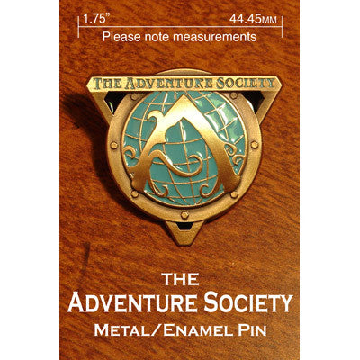 Adventure Society Pin