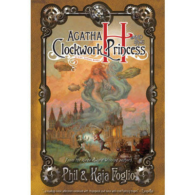 Agatha H and the Clockwork Princess Novel