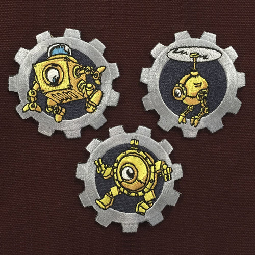 Dingbot Patch Set of 3