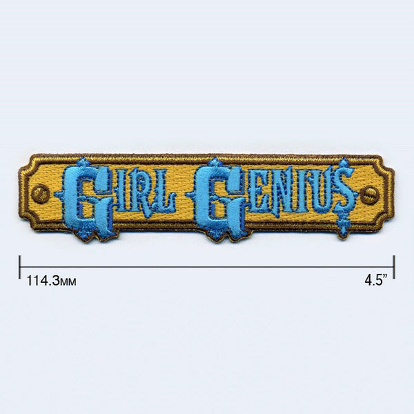 Girl Genius Logo Patch