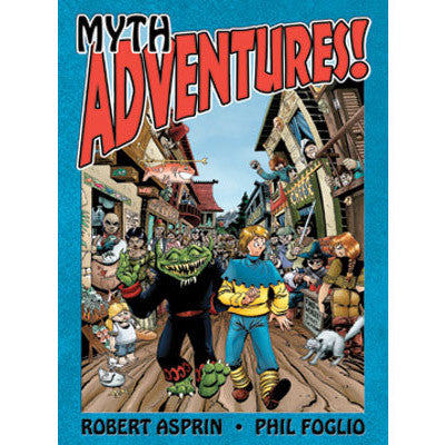MythAdventures Graphic Novel