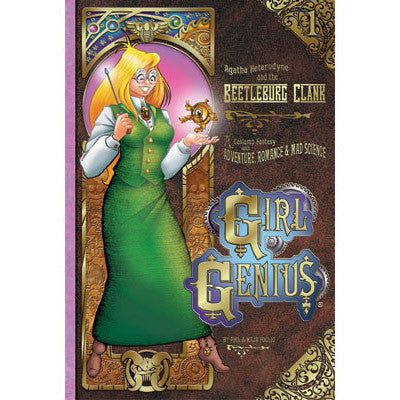 Girl Genius Patch: Gear