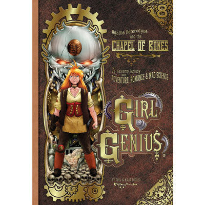 Girl Genius Audiobooks!