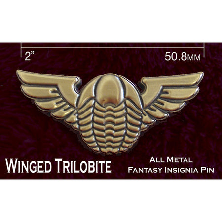 Castle Wulfenbach Wings Insignia Pins