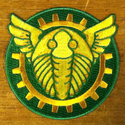 Winged Trilobite Patch