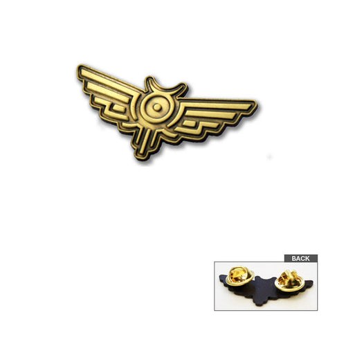 Court Symbol Lapel Pin