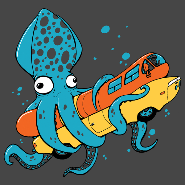 Squid Vs. Weinermobile Shirt