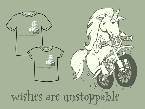 Wishes Are Unstoppable T-Shirt *LAST CHANCE*