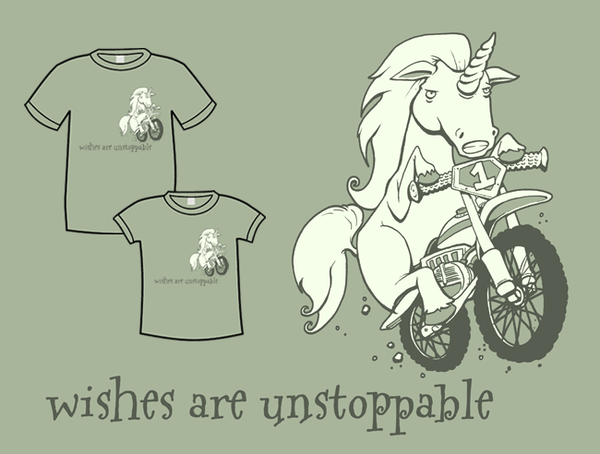 Wishes Are Unstoppable T-Shirt