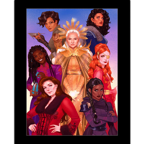 The Women of the Grishaverse Print