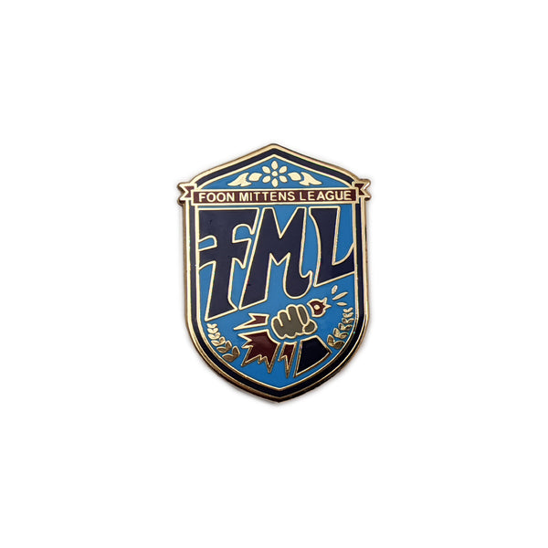 Foon Mittens League Pin