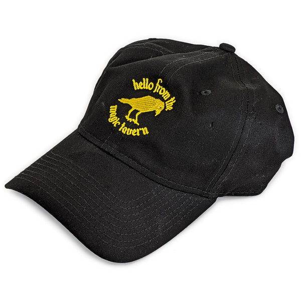 Hello from the Magic Tavern Logo Cap