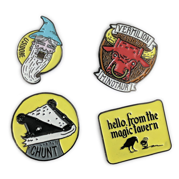 Hello from the Magic Tavern Pins