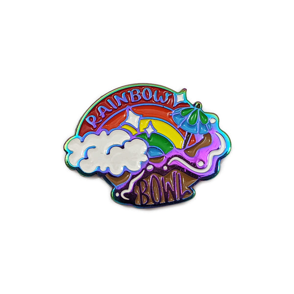Rainbow Bowl Pin