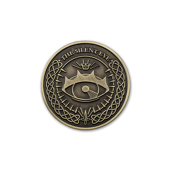 The Silent Eye Challenge Coin