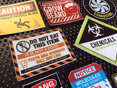 Employment Endangerment Stickers