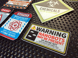 Hyperbolic Upgrade Stickers