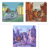 Island Book Epilogue Triptych Set - LIMITED TIME ONLY
