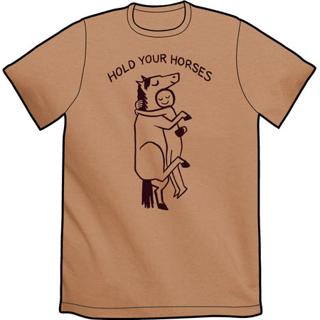 Straight Edge Horse Shirt