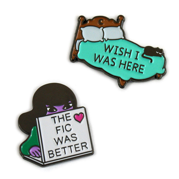 Better Fic & Bed Wish Pins