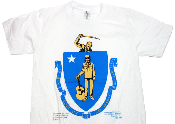 Coast To Coast Mass. Tour SEAL Shirt *LIMITED EDITION*