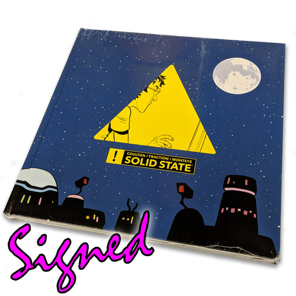 Solid State Graphic Novel Hardcover