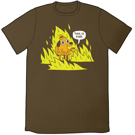 This Is Fine Japan Shirt