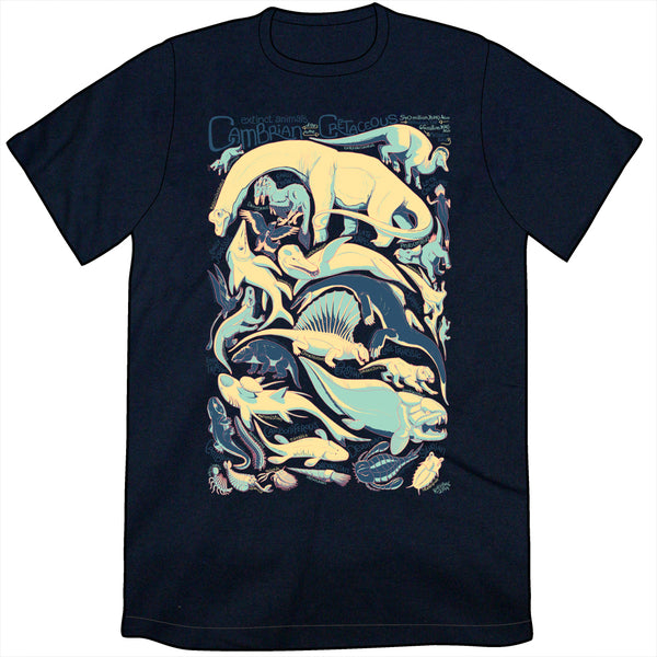 Extinct Animals of the Paleozoic and Mesozoic Shirt
