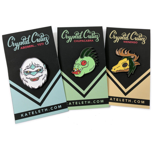 Cryptid Cuties Pins