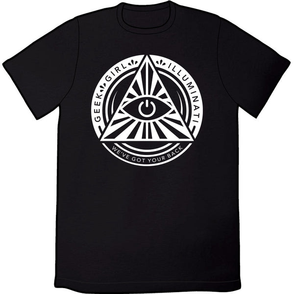 Geek Girl Illuminati Shirt