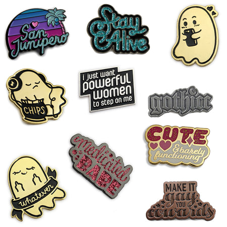 Kate Leth 2020 Pins Collection