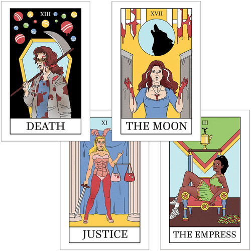 School Hard Tarot Prints