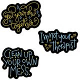 Tough Love Sticker Pack