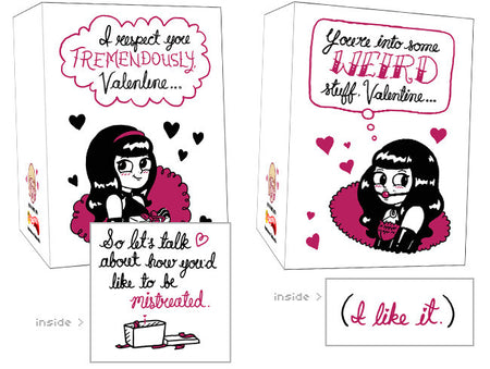 Smoochin' Snails Valentimes Cards