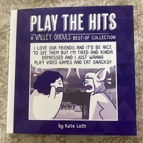 Valley Ghouls Play the Hits Zine (NOT SIGNED)