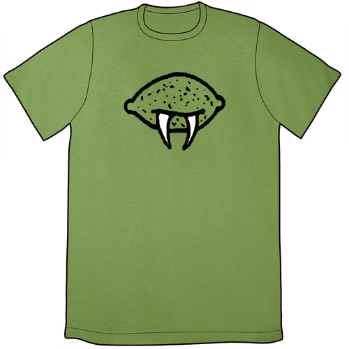 Sabre-Toothed Lime Shirt