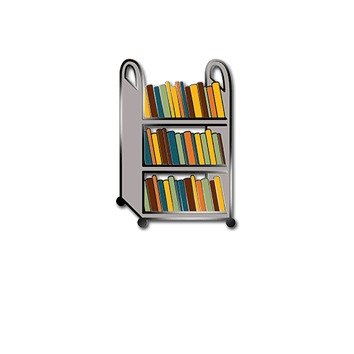 Library Comic Enamel Pins