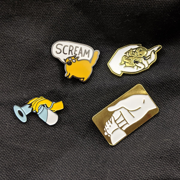 Lucy Knisley Baby Enamel Pins