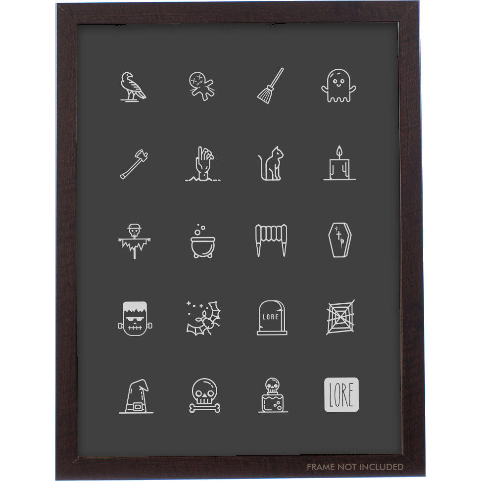 Icons charts logos page 3 topatoco lore icons poster 18x24 pooptronica