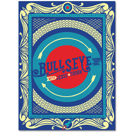 Bubble Logo Poster 12x12