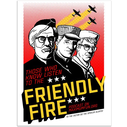 Friendly Fire War Poster Print