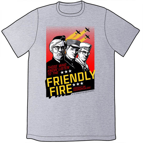 Friendly Fire War Poster Shirt