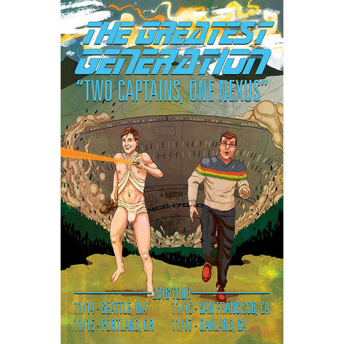 The Greatest Generation 2016 Tour Poster