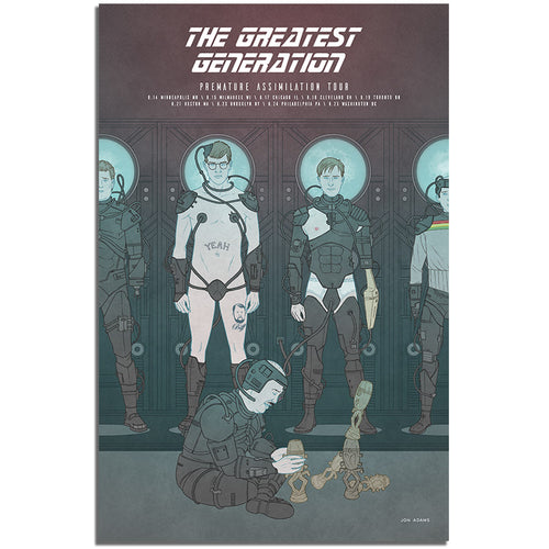 The Greatest Generation 2017 Tour Poster