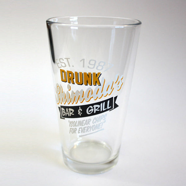 Drunk Shimoda's Bar and Grill Pint Glass