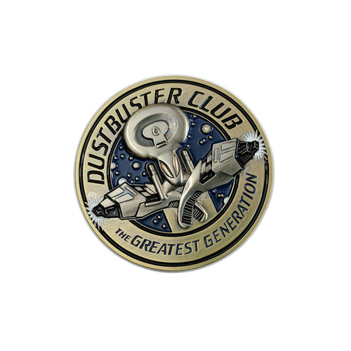 Dustbuster Club Challenge Coin