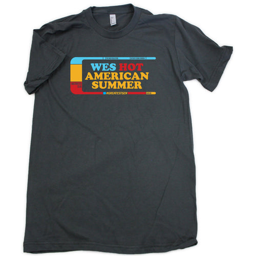 Wes Hot American Summer Shirt