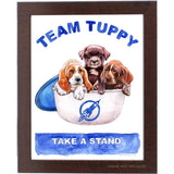 Puppies in Tuppies Print 11x14