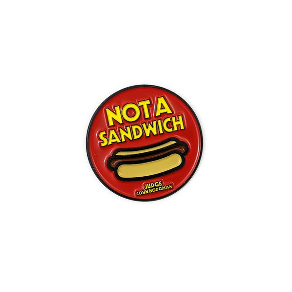 Not a Sandwich Enamel Pin